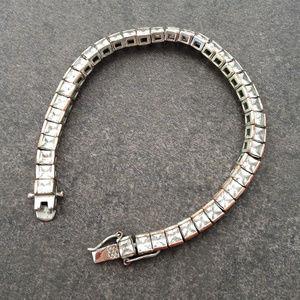 Vintage 50's Crystal Tennis Bracelet